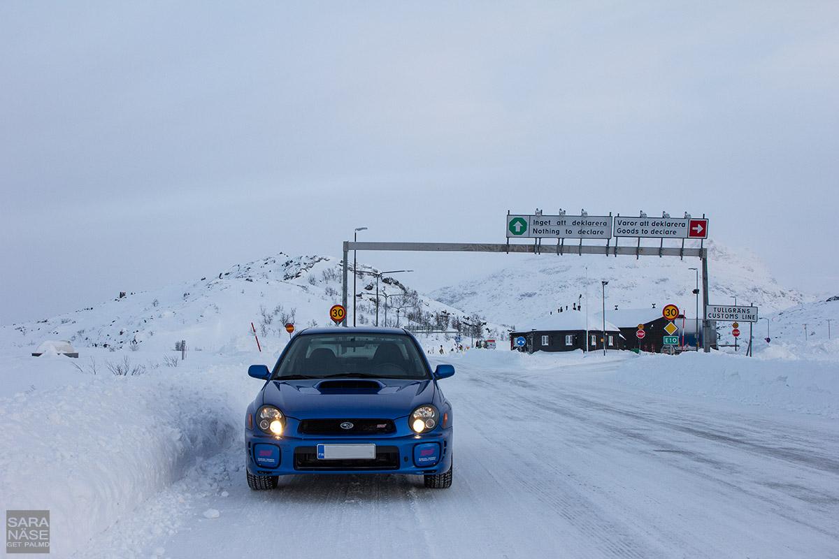 Riksgränsen Sweden Norway