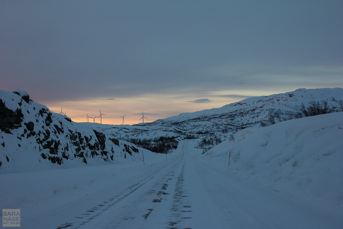 Road to Narvik Norway