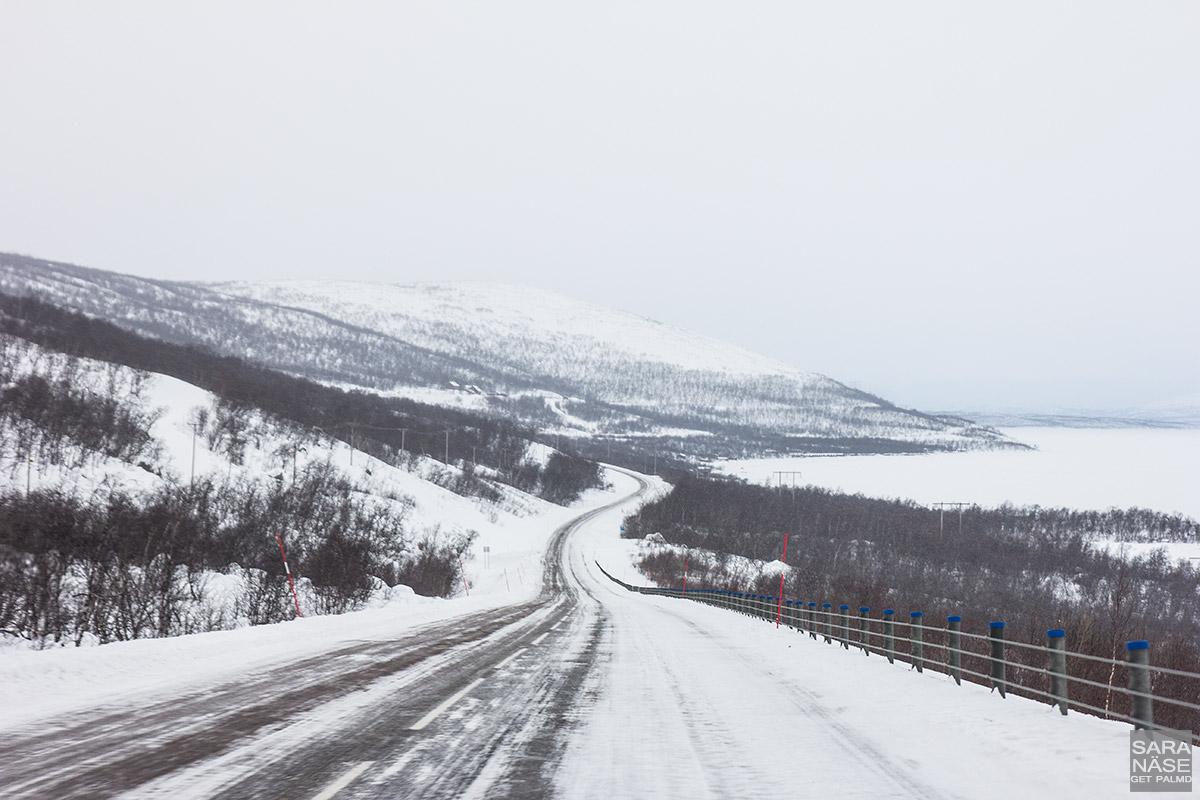 Road to Riksgränsen