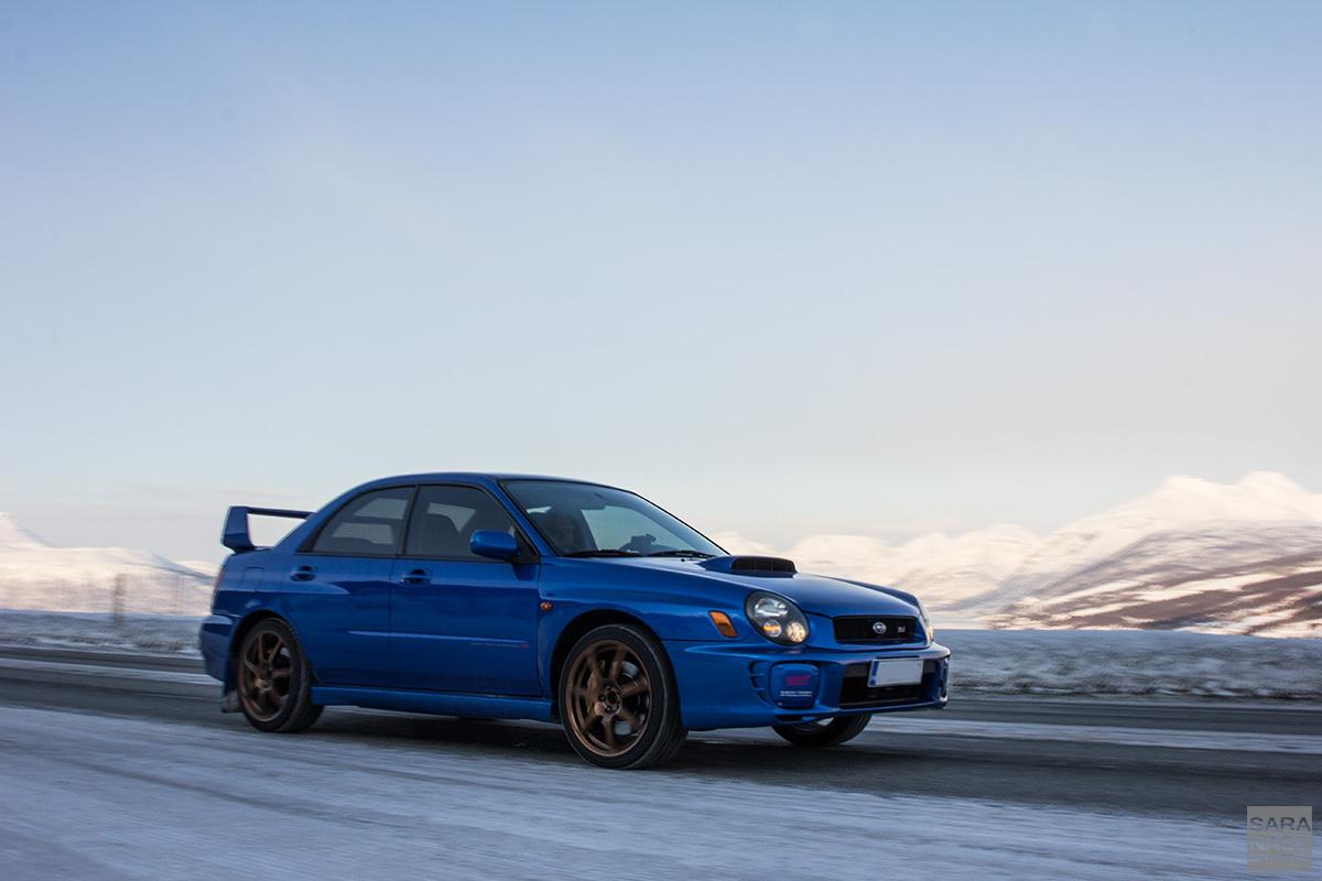 Subaru Impreza rolling