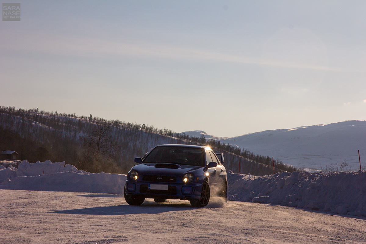 Subaru sideways