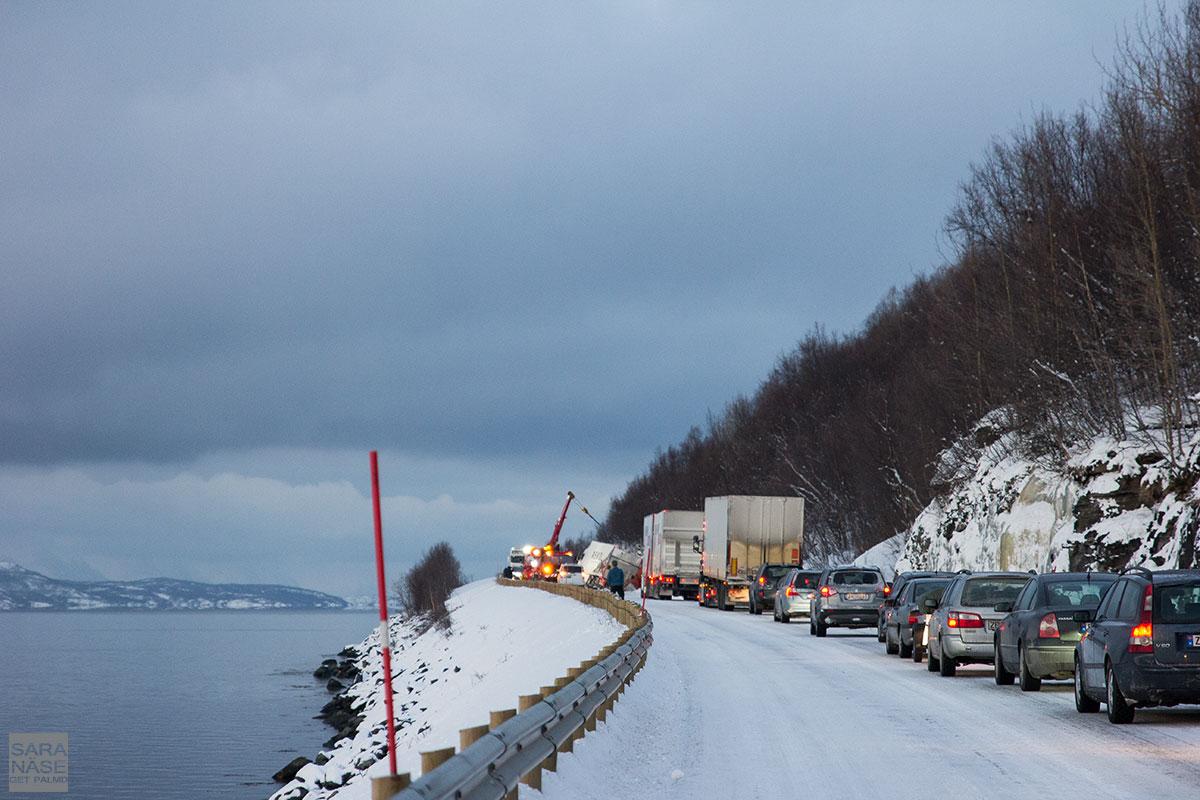 Truck accident Norway