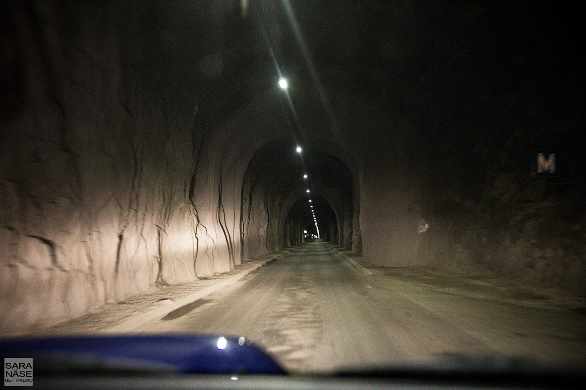 Tunnel to Oksfjord