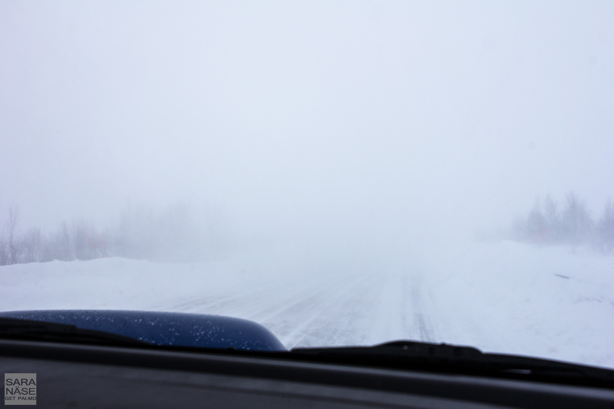 Winter road visibility