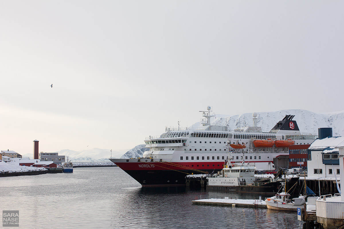 Hurtigruten-MS-Nordlys-port