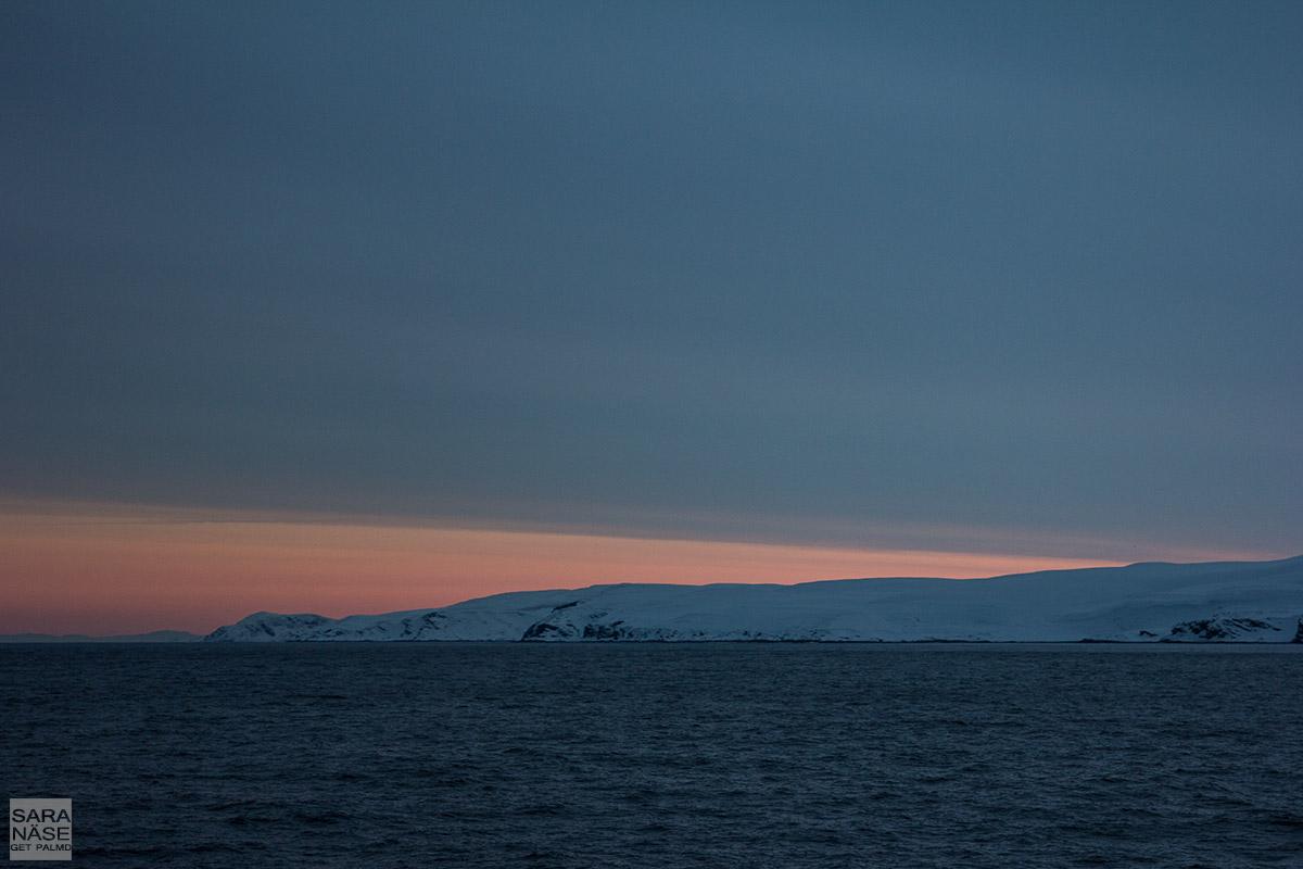 Hurtigruten-sunset