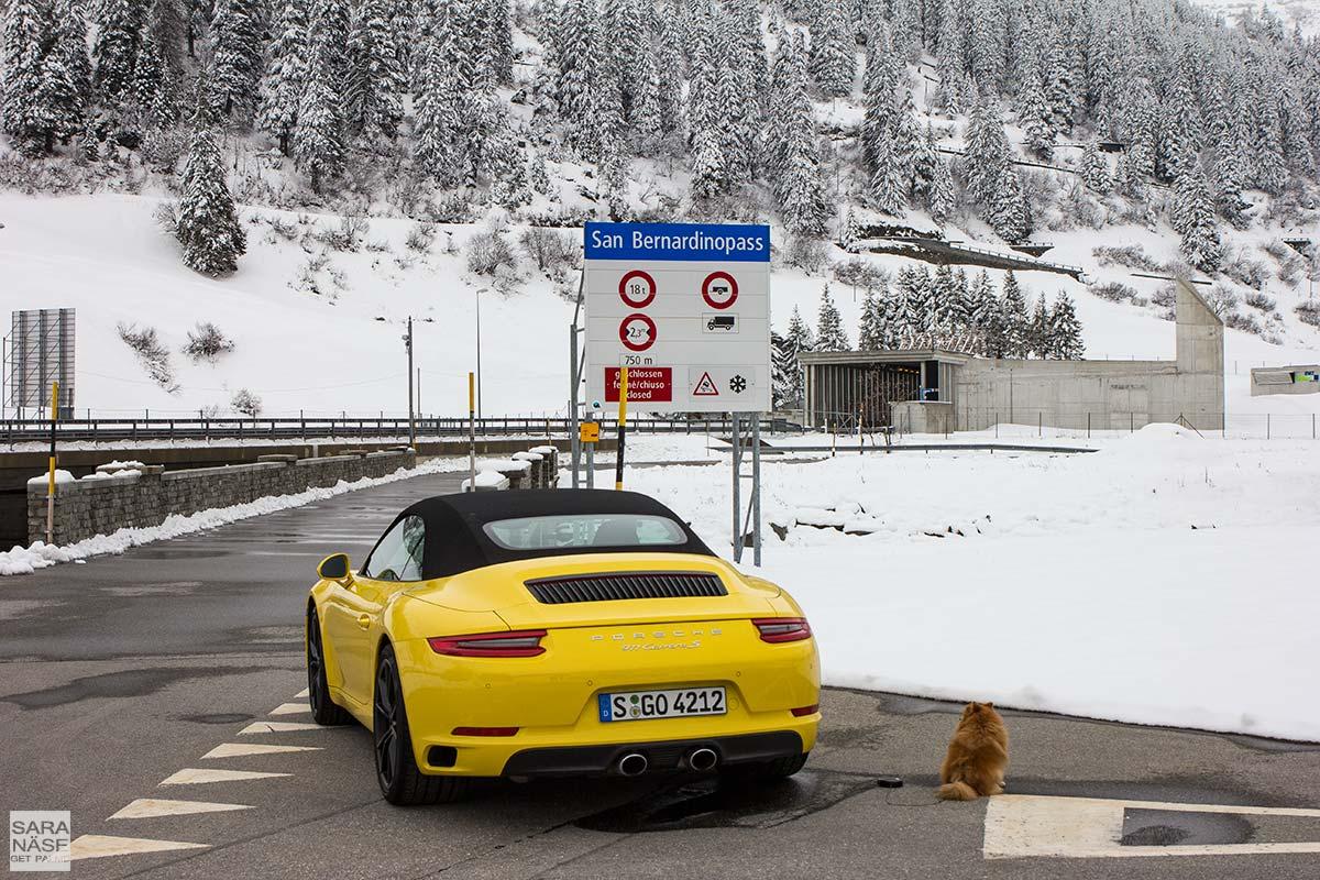 Yellow-Porsche-911-Carrera-S-Cabriolet