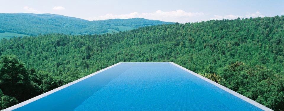 Castello di Casole infinity pool