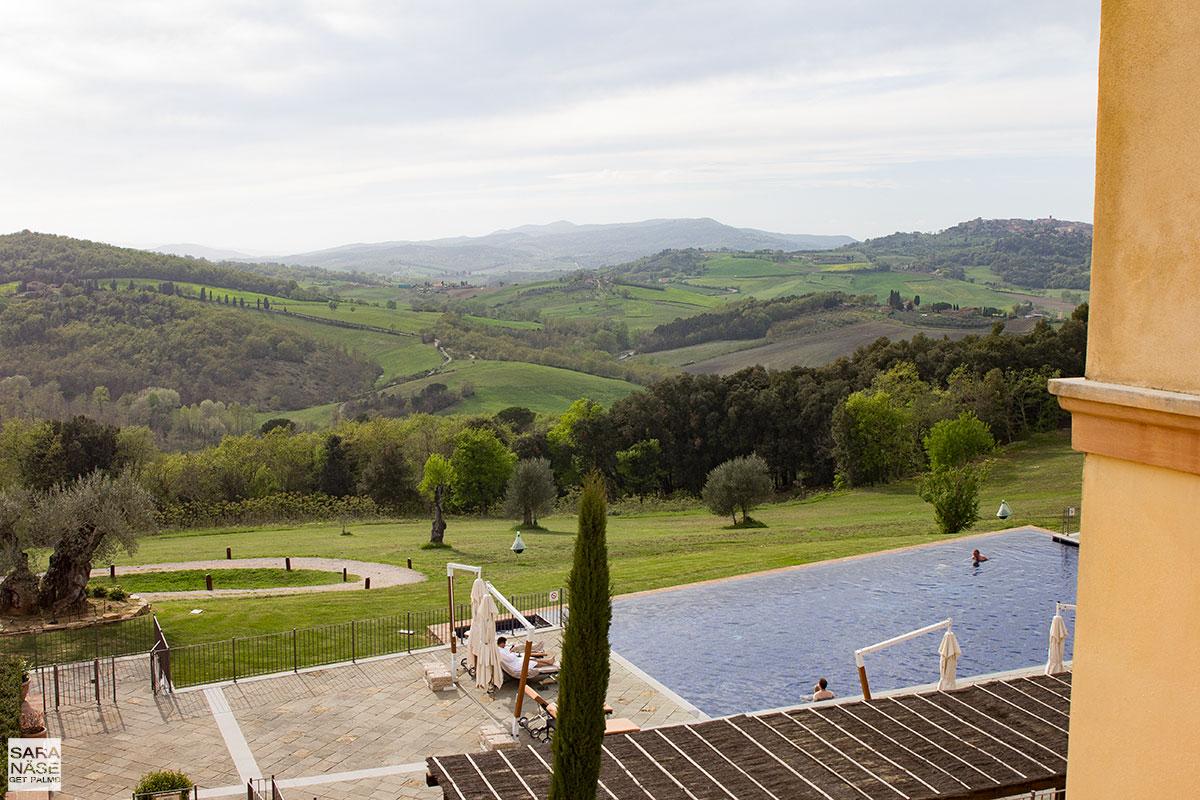 Castello di Casole view