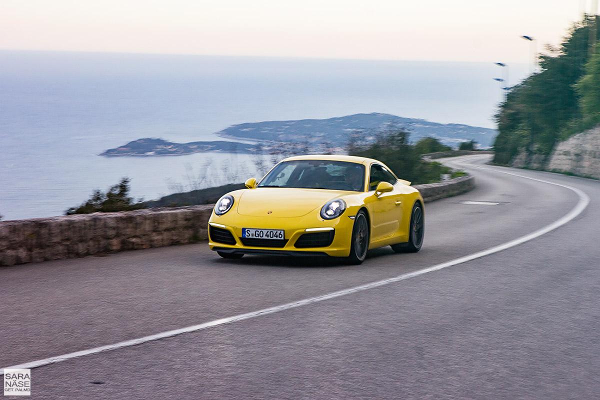 Facelift Porsche 991