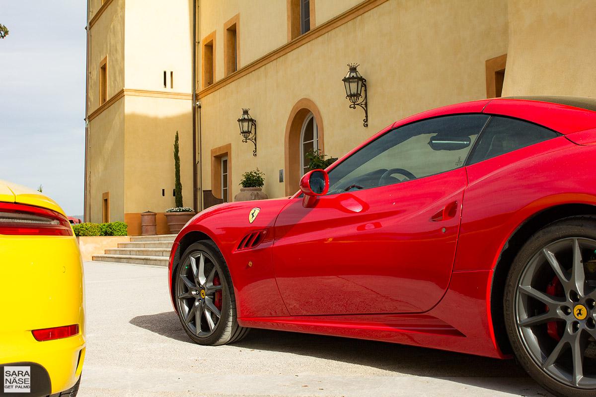 Ferrari California Tuscany