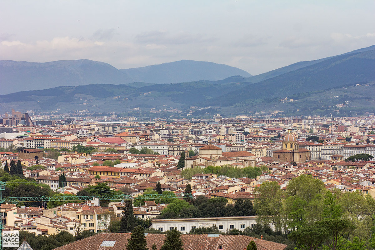 Florence view from Villa-Cora