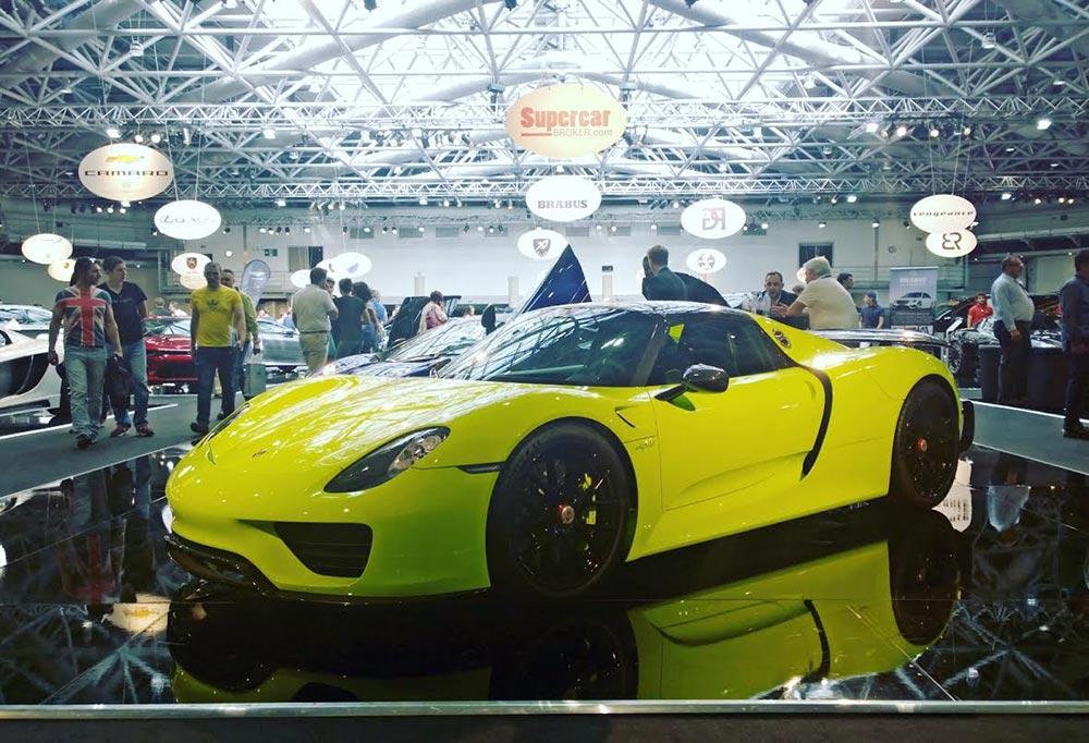 Porsche 918 Spyder Top Marques Monaco 2016