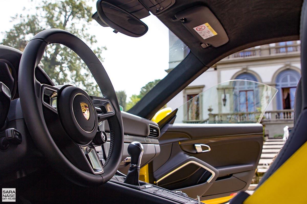 Porsche 991 interior manual