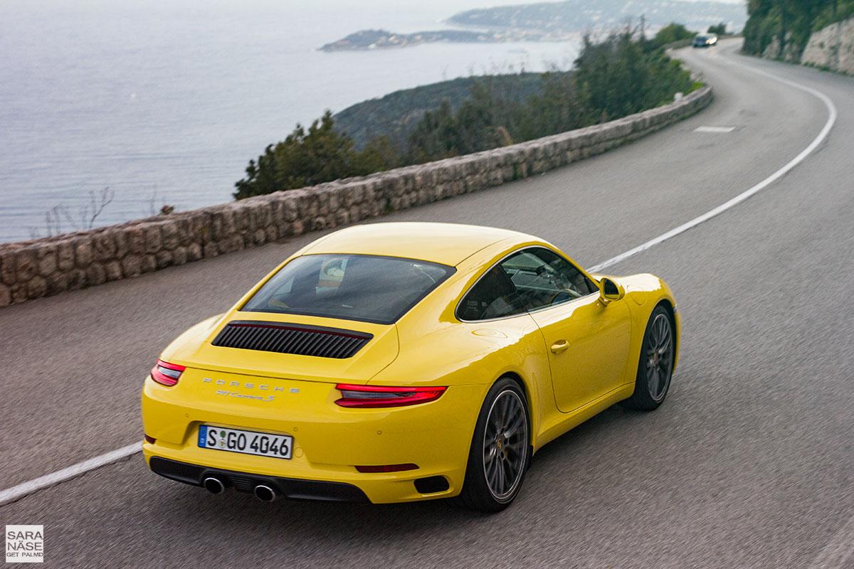 Porsche 991.2 yellow