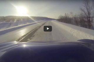 Subaru-snowy-road