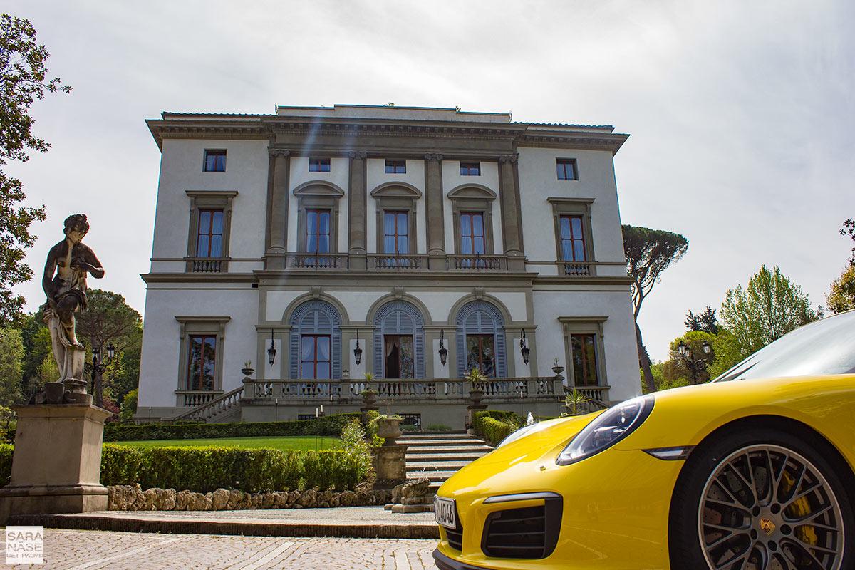 Villa Cora Firenze Porsche