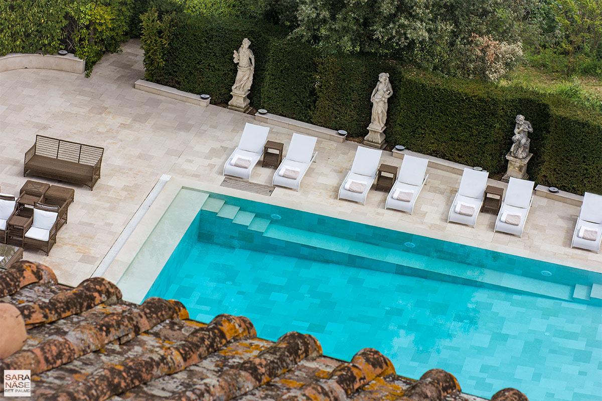 Villa Cora swimming pool