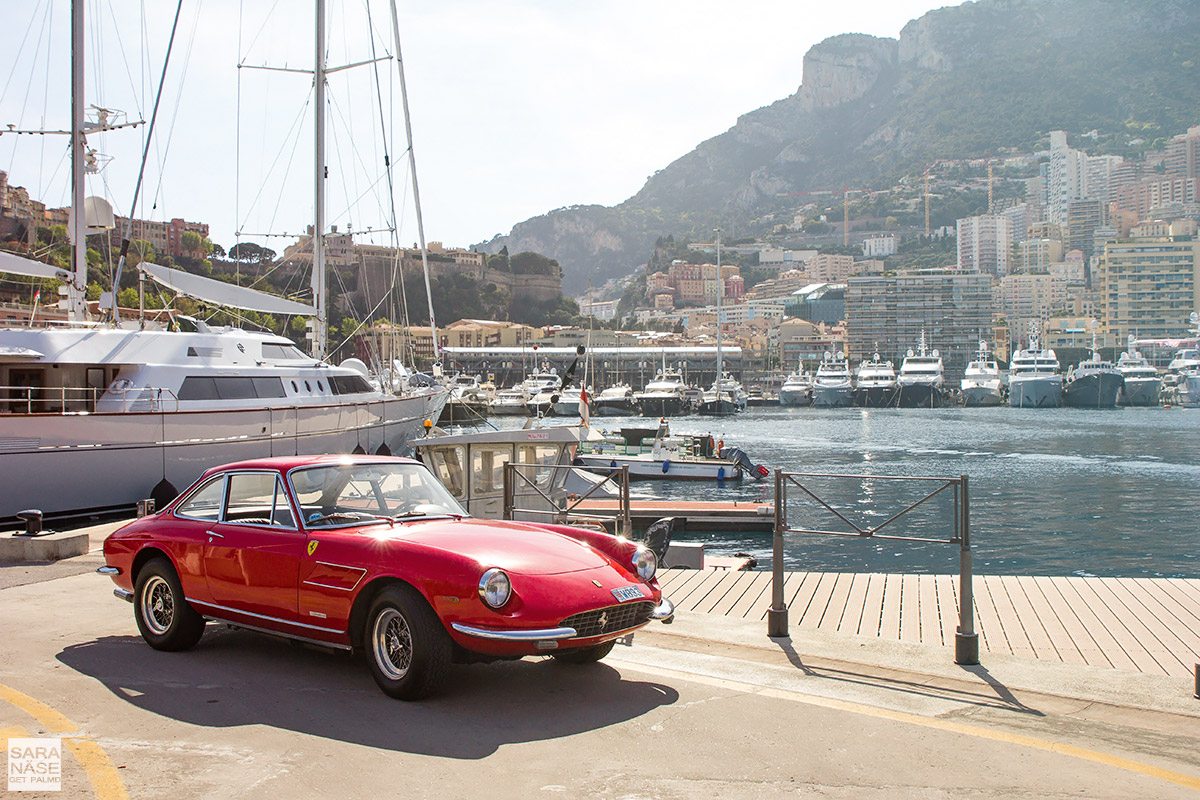 Classic Ferrari photo shoot