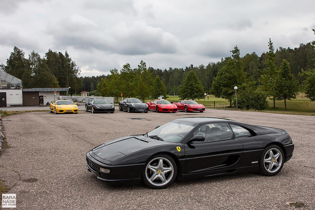 Ferrari F355 berlinetta at Ferrari meeting