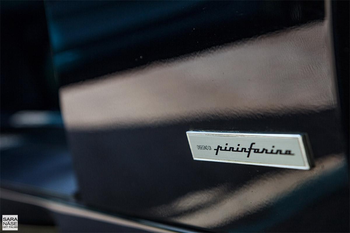 Ferrari F355 berlinetta Pininfarina badge