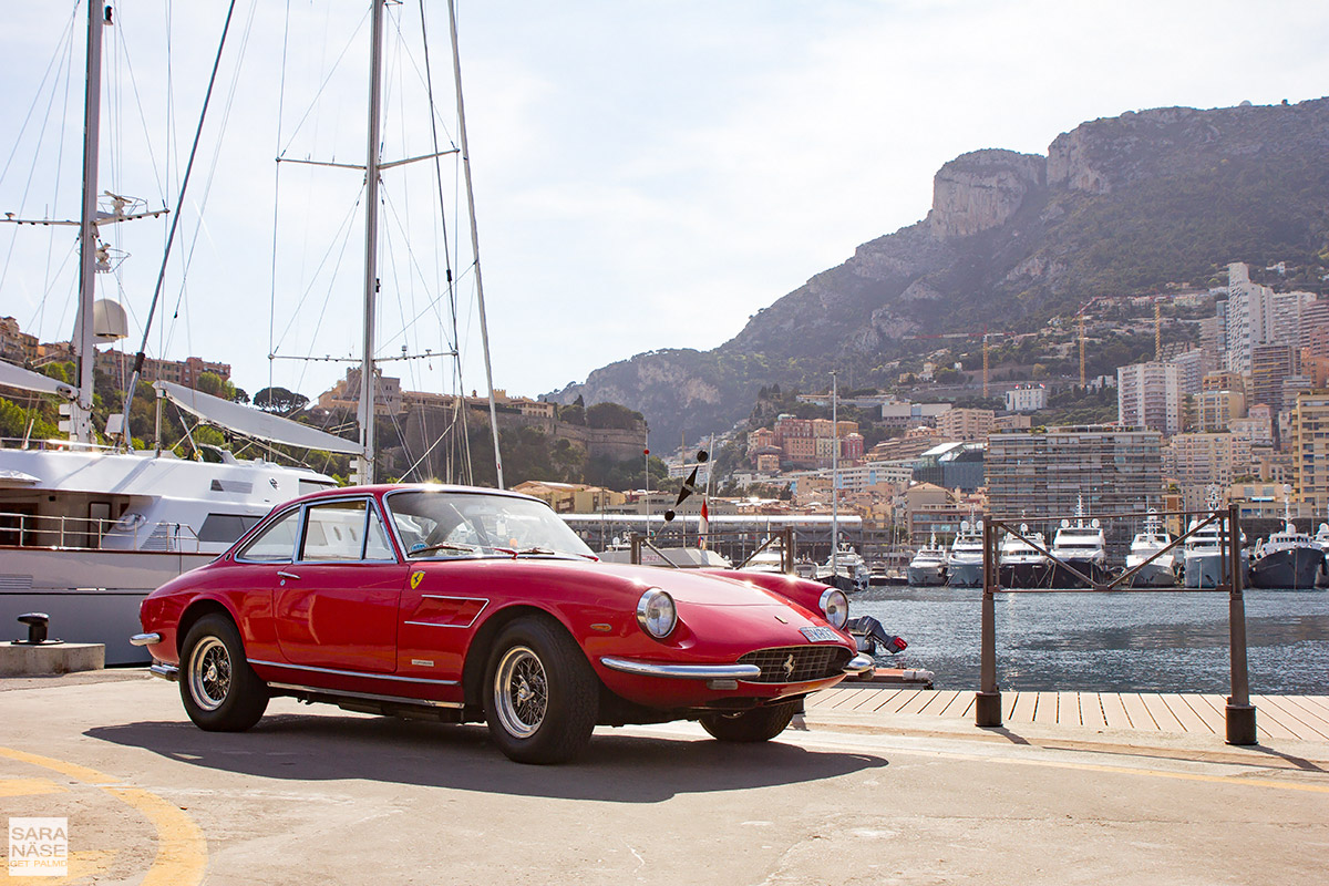 Monaco Ferrari classic car