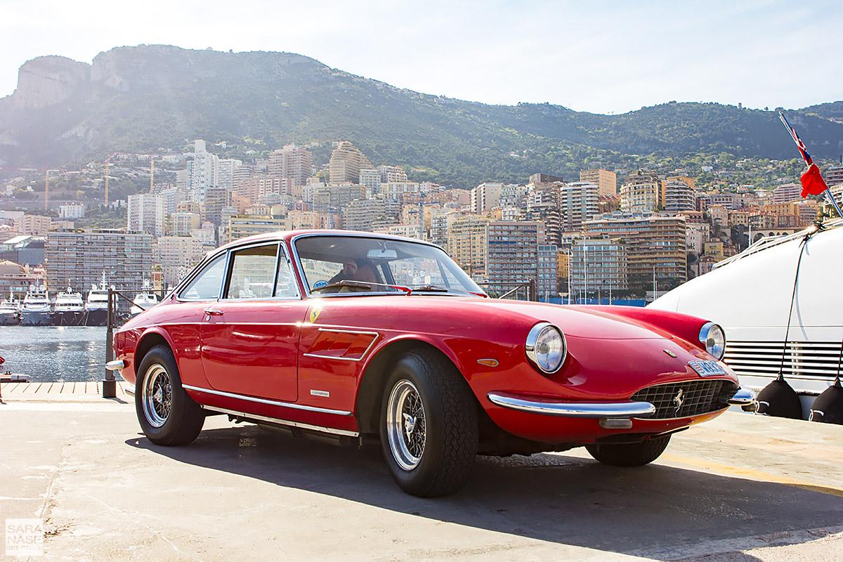 Red Ferrari 330