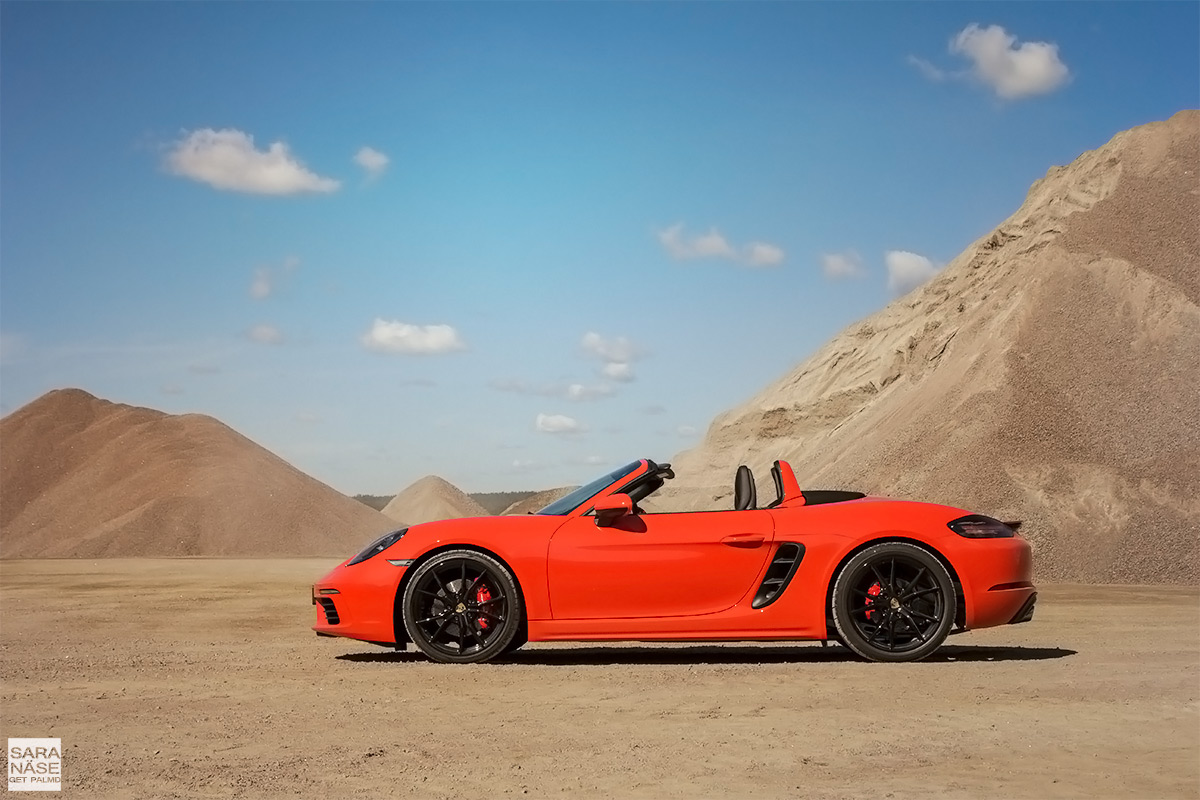 first drive porsche 718 boxster s. Black Bedroom Furniture Sets. Home Design Ideas