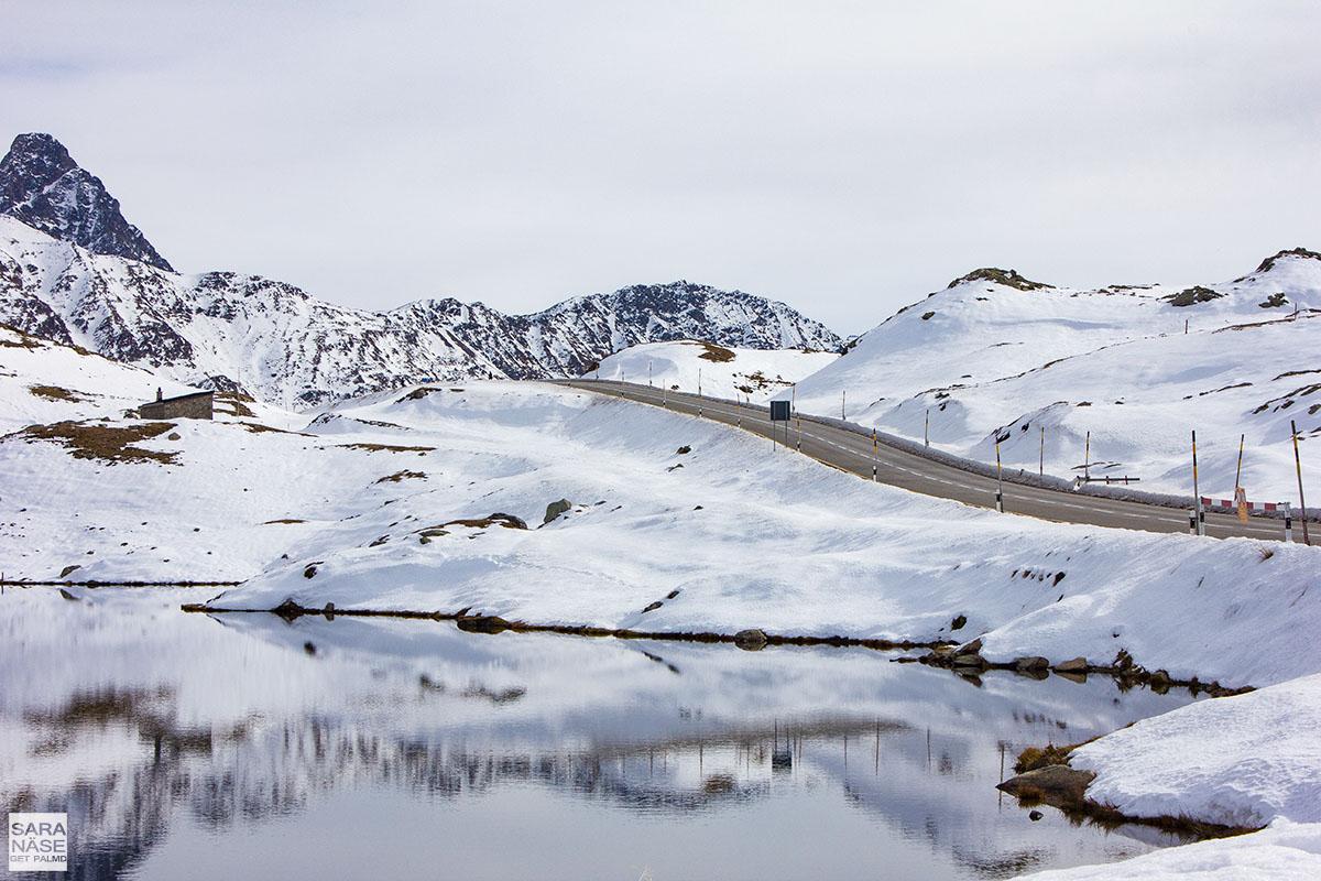 Best driving roads in Europe - Bernina Pass