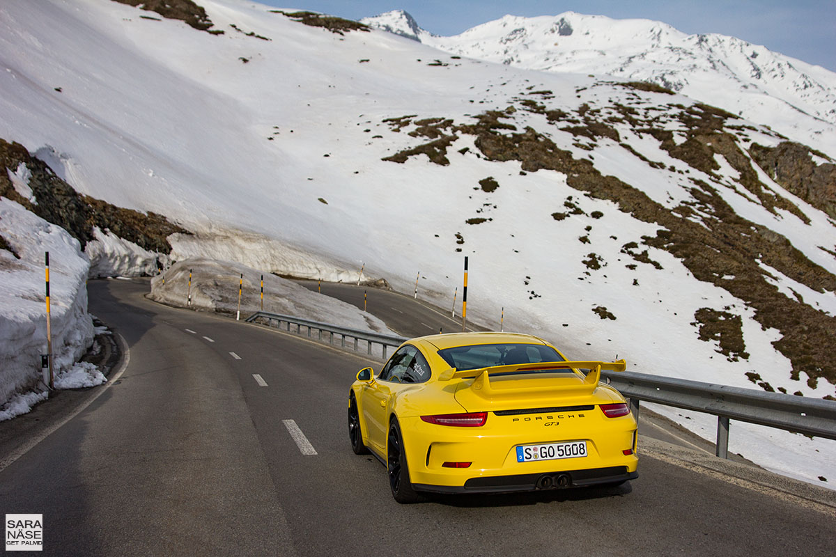 Best driving roads in Europe - Berninapass