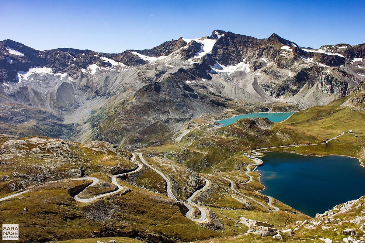 Best driving roads in Europe - Colle del Nivolet, Italy
