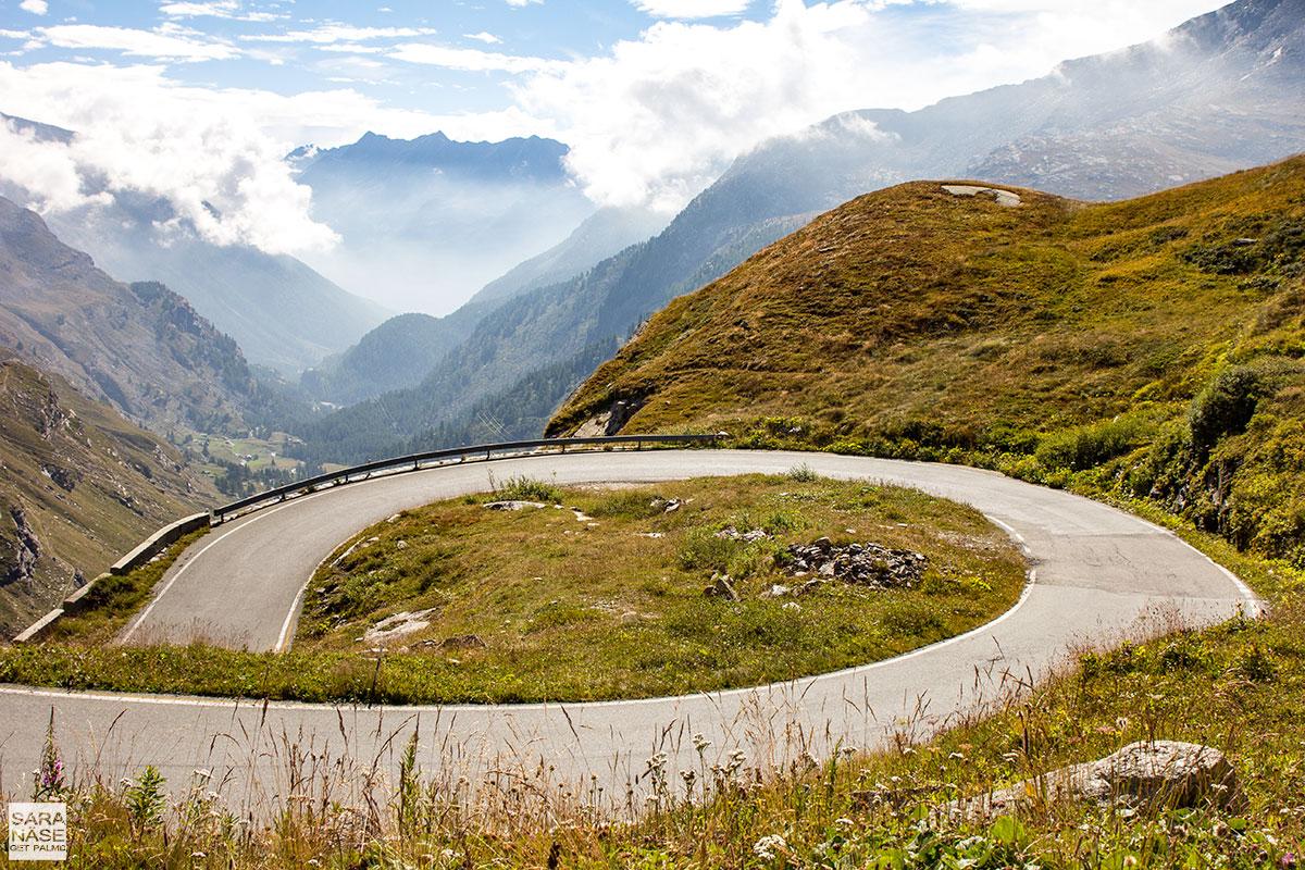 Best driving roads in Europe - Colle del Nivolet