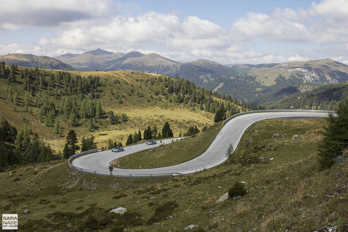 Best driving roads in Europe - Nockalm Road, Austria