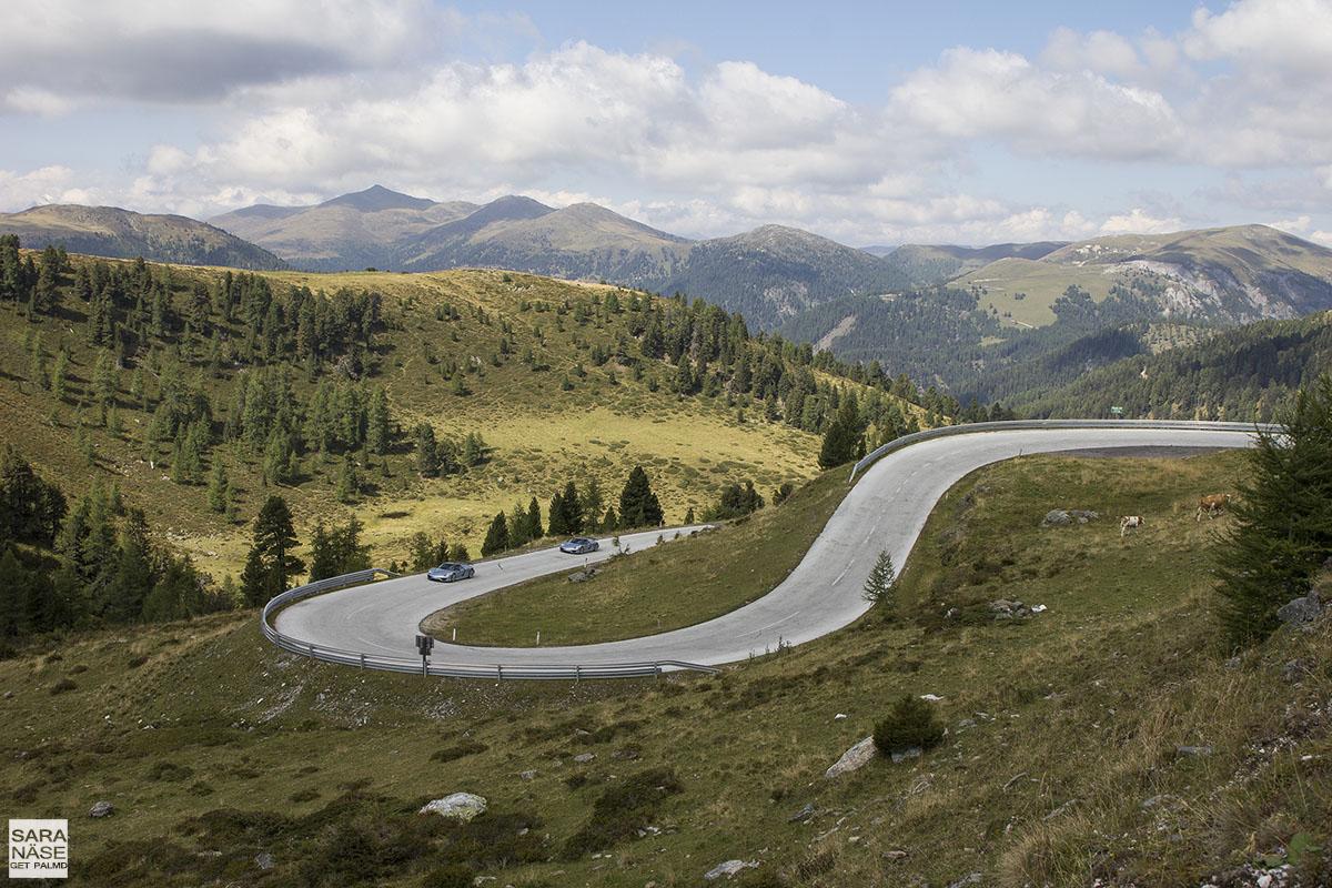 Best driving roads in Europe - Nockalm Road, Austria