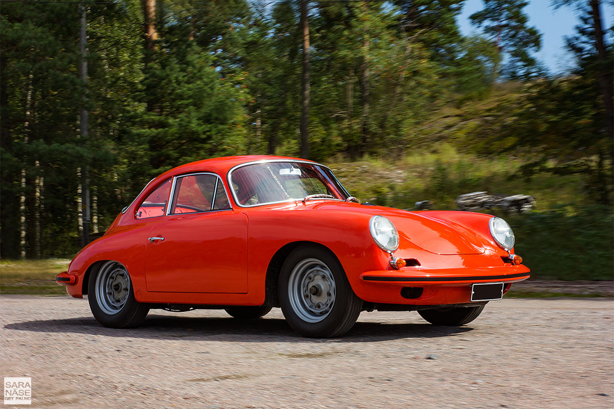 Porsche 356B 1600 Super Karmann