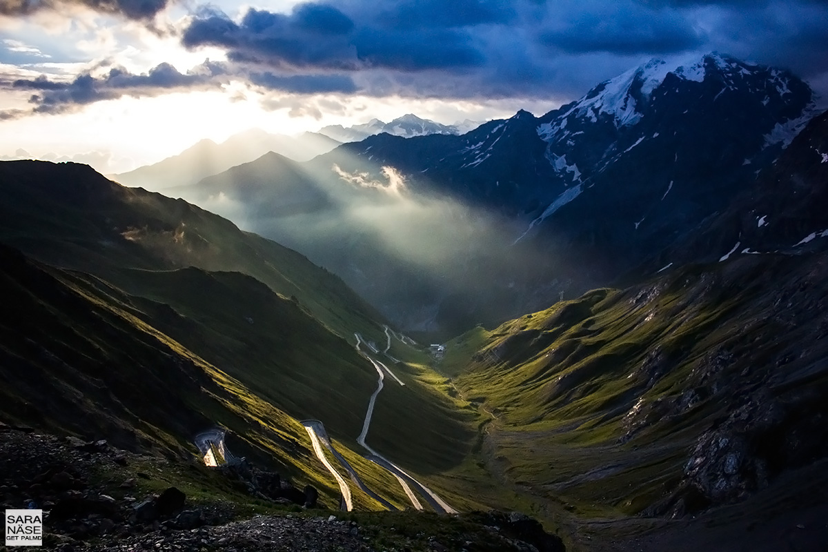 Best driving roads in Europe - Stelvio Pass, Italy