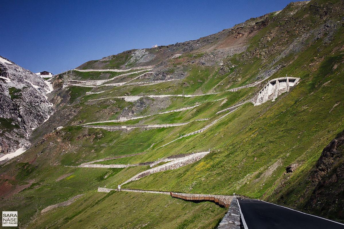 Best driving roads in Europe - Stelvio Pass, Italy