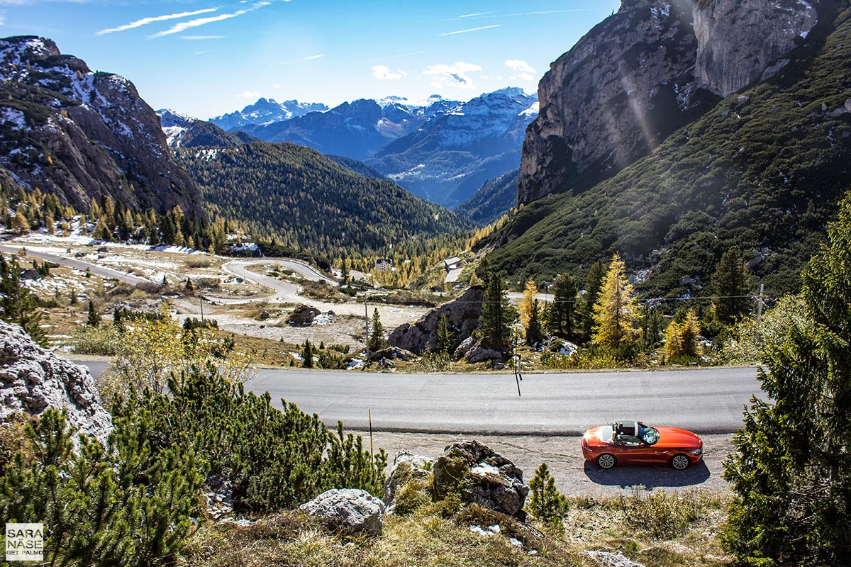 Best driving roads in Europe - Valparola Pass, Dolomites