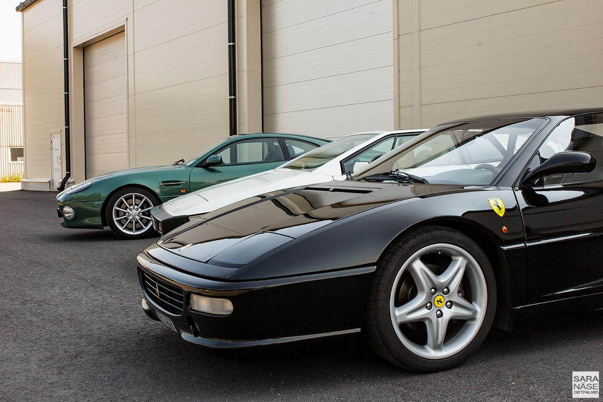 Ferrari F355 - Lotus Turbo Esprit - Aston Martin DB7 V12