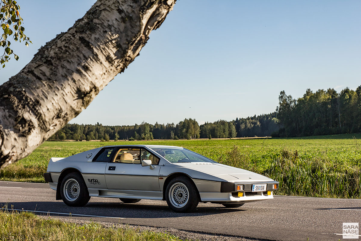 Lotus Turbo Esprit - for your eyes only