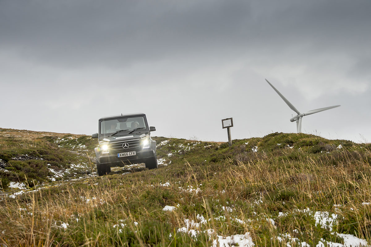 Mercedes-Benz G-Class Coast to Coast Scotland