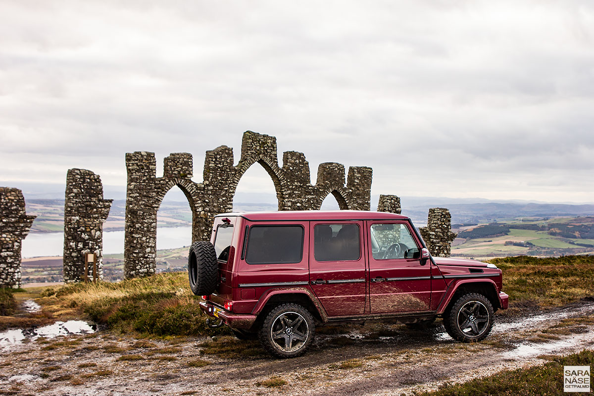 Mercedes-Benz - Fyrish Monument, Scotland