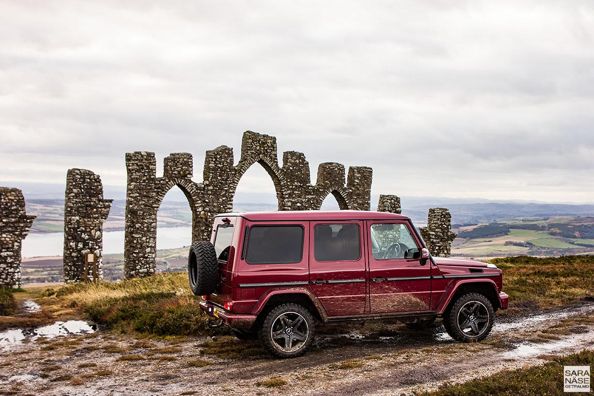 Mercedes-Benz - Fyrish Monument, Scotland