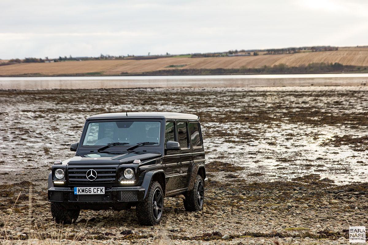 Mercedes benz g class coast to coast in scotland for Mercedes benz g