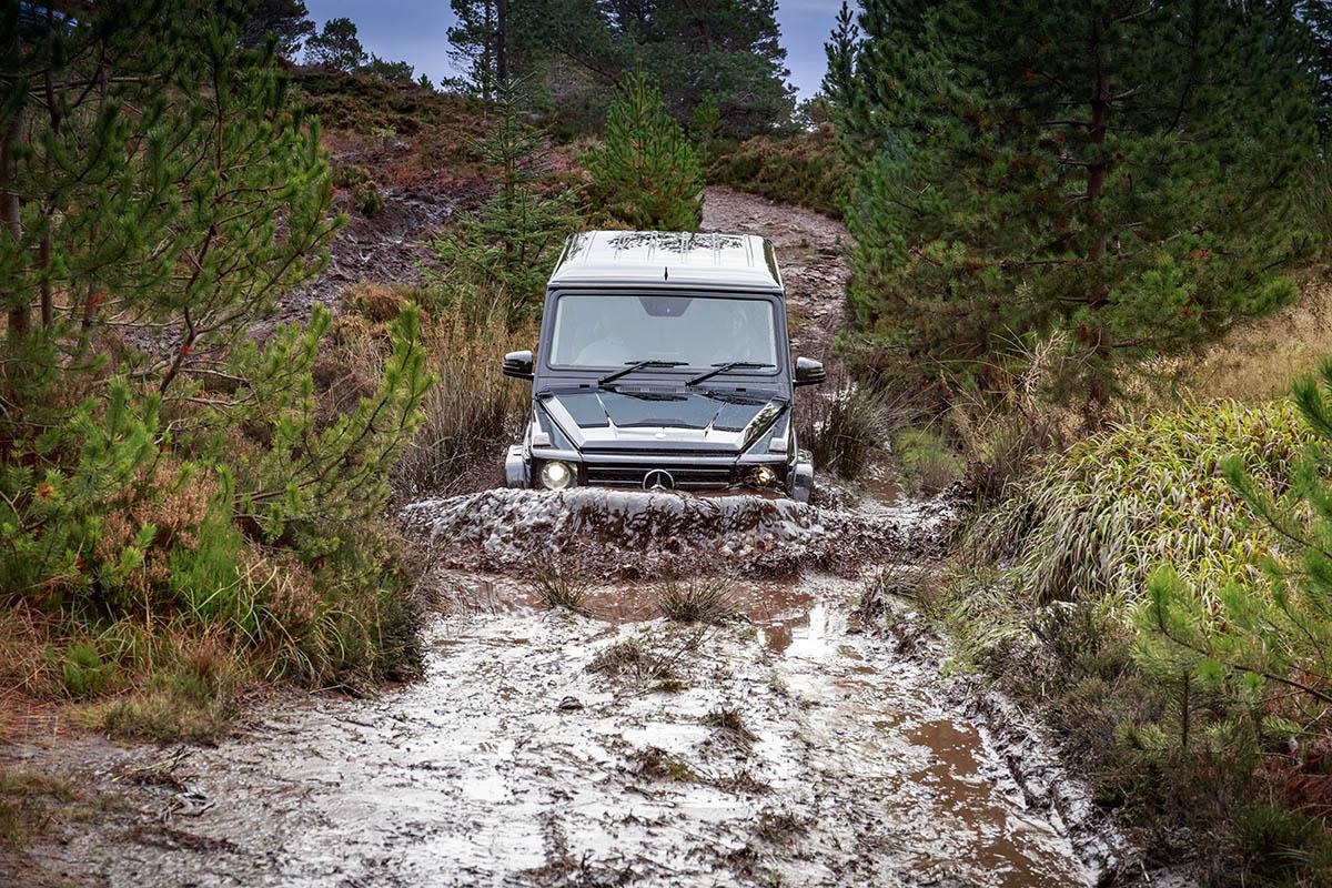 Mercedes-Benz G-Class Coast to Coast Scotland