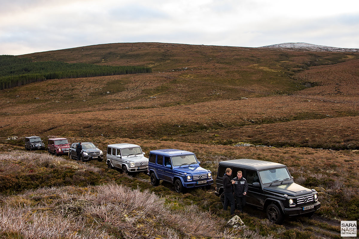 Mercedes-Benz - Scotland off-road trip