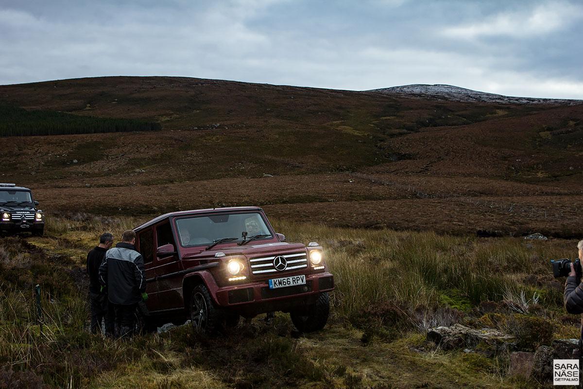 Mercedes Benz G Class Coast To Coast In Scotland