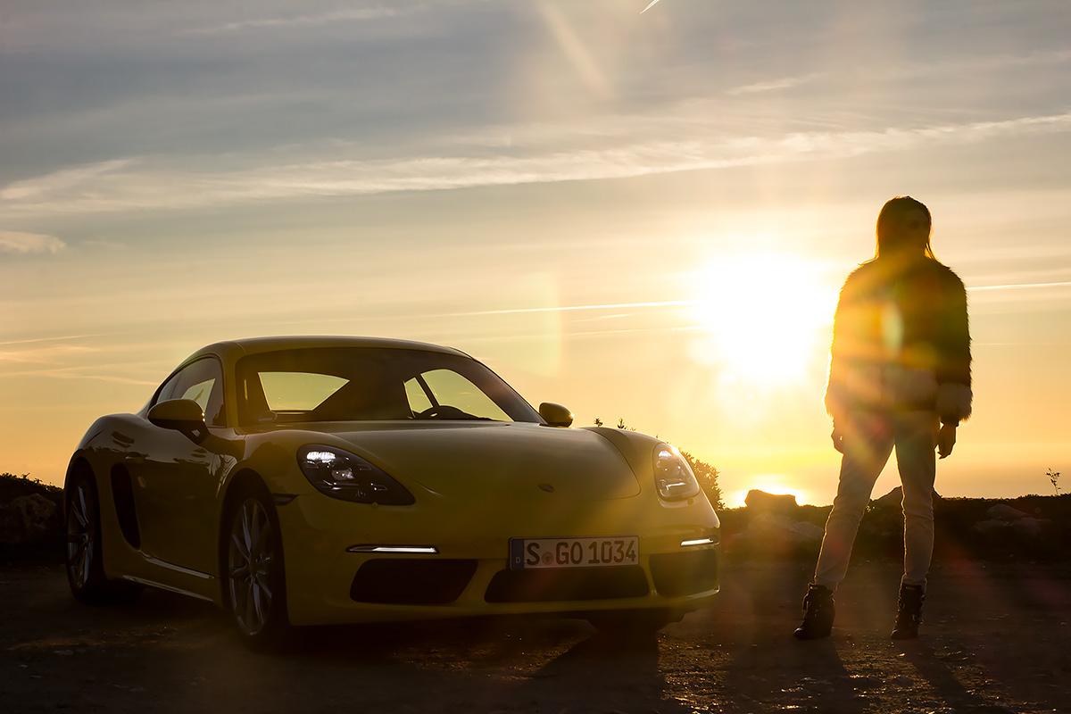 Porsche 718 Cayman - Racing yellow