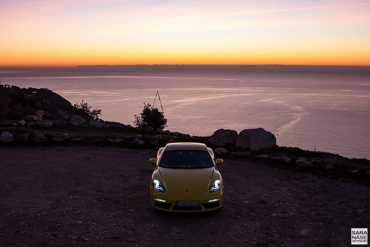 Porsche 718 Cayman - Route de la Turbie & Tête de Chien