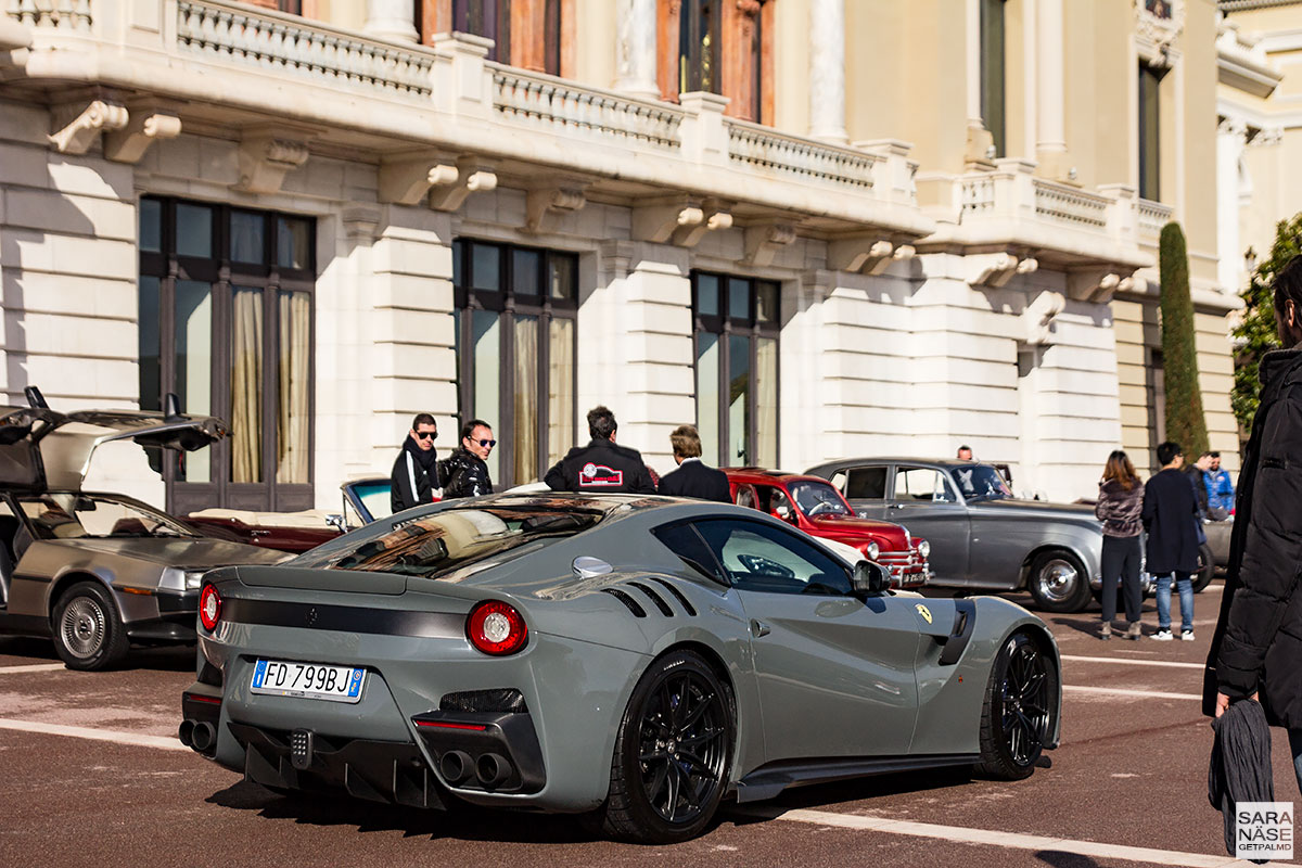 Ferrari F12 TDF - Cars & Coffee Monaco
